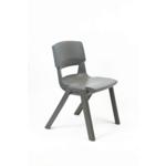 Postura Plus Posture Chair 460mm H Iron Grey