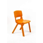 Postura Plus Posture Chair 460mm H Tangerine Fizz