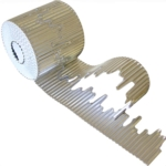 Icicle Border Rolls Silver 15m