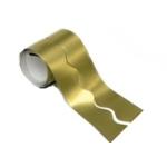 Bulletin Border Mtlc Gold 57mm