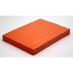 A4 Card 340 Micron Orange