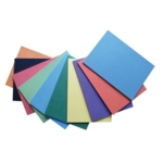 340 Micron Bright Card Assorted A4 Recycled