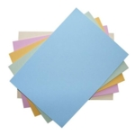 Coloured Card A4 230 Micron Assorted Pastels