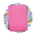 Ten Card A4 230 Micron Assorted Bright Recycled