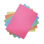 230 Micron Vivid Card Assorted A4 Recycled