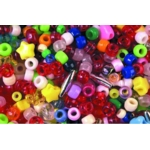Plastic Beads Assorted