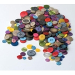 Plasticbuttons Assorted 500G