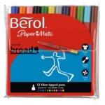 Berol Colour Broad Pen Wlt12 Asst Cbw12