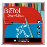 Berol Colourfine Pen Wlt 12 Asst Cfw12