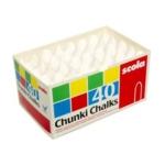 Chunki Chalks White (57mm X 14