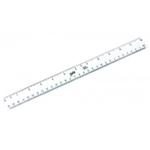 Helix 30cm Rulers  White Pk100
