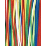 Hair Loop Pipe Cleaners Bright Colours