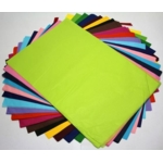Tissue Paper 450 X 700mm Assorted Colours