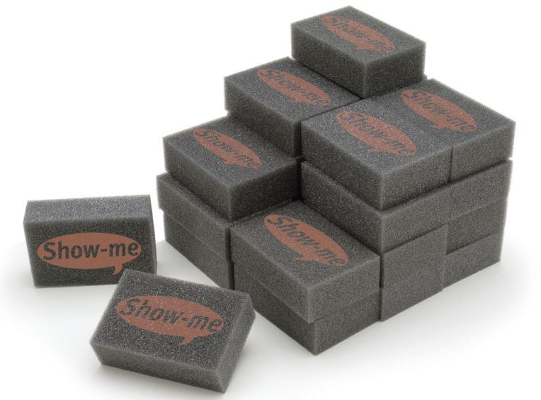 Mini Foam Erasers Bulk Pack