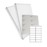 White Laser Labels 14/sheet 99.1 x 38.1mm