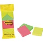 Post-It Neon 100 Sheet Notes Pk36