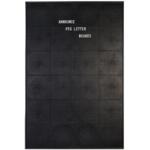 Announce Peg Letter Board 920 x 615mm