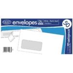 DL White  PS Envelopes Pk1000
