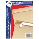 C5 Manilla Envelopes 25 Pk20