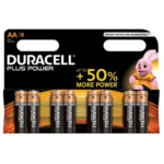 Duracell Battery Plus AA Pk8 75051841