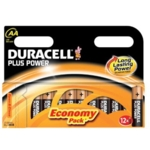 Duracell Battery Plus AA Pk12 75052864