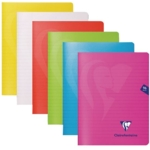 Clairefontaine Mimesys NB A4 Asrtd Pk10