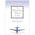 Basildon Airmail Writepad Blu Pk10