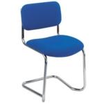 FF Arista Cantilever Meeting Chair Blue