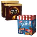 Nescafe Gold Blnd 2x750g FOC Mini Breaks