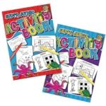 Tallon Super Jumbo Activity Book Pk6
