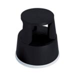 2Work Plastic Step Stool Black