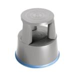 2Work Plastic Step Stool Light Grey