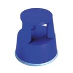 2Work Plastic Step Stool Blue