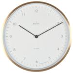 Acctim Bronx 30cm Wall Clock Brass