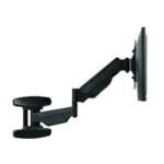 Fellowes Single Wall Mount Monitor Arm