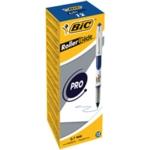 Bic RollerGlide Pro Med Blue Pk12