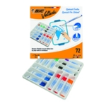 Bic Velleda 1721 Fine Marker Astd Pk72