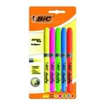 BIC Highlighter Grip Assorted Pk 5