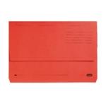 Elba Doc Wallet Manilla Fs Red Pk25
