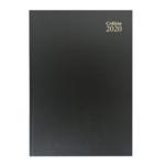 Collins A5 Desk Diary WTV 2020 Black