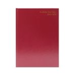 Collins A5 Desk Diary WTV 2020 Red