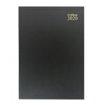 Collins A4 Desk Diary WTV 2019 Black