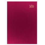 Collins A4 Desk Diary WTV 2019 Red