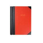 Collins A4 Diary 2 Pages Day 2020 Red