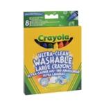 Crayola Ultra Cln Lrg Crayons Pk48