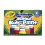 Washable Kids Paint Colours Pk36
