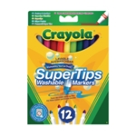 Crayola Bright Supertips Pk72