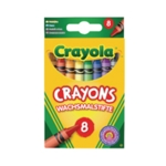 Assorted Colouring Crayons Pk192