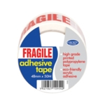 County Fragile Adhesive Tape Pk6