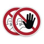 Durable Entry Prohib Sign 5pk BOGOF